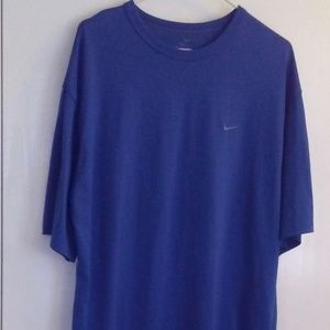 Nike Dry Fit Blue T-Shirt